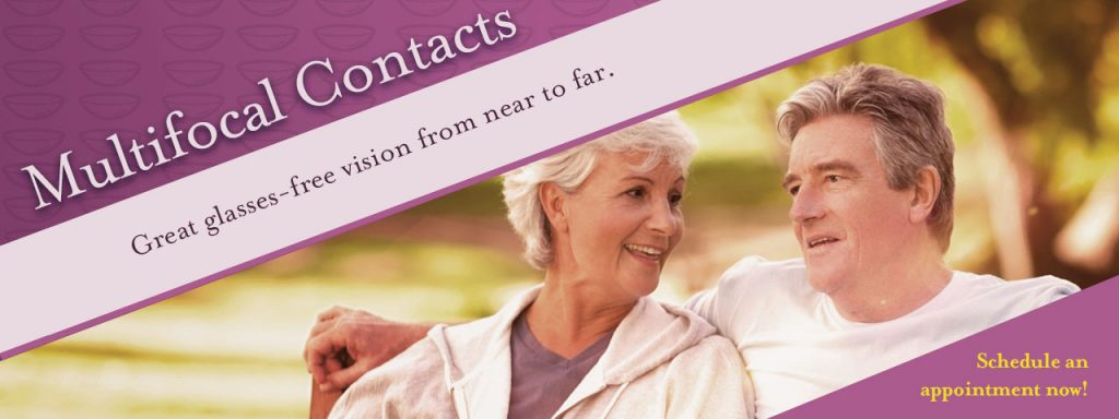Multifocal Contacts Couple Slideshow